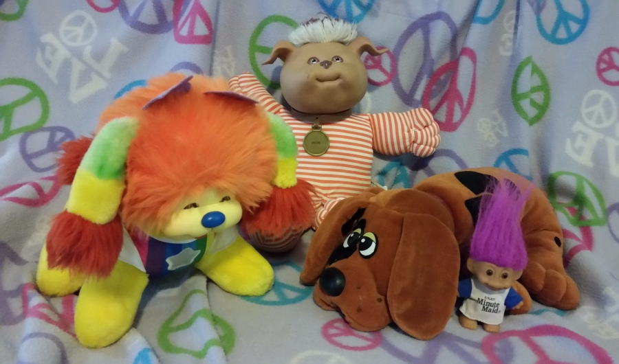 1980s stuffed animals