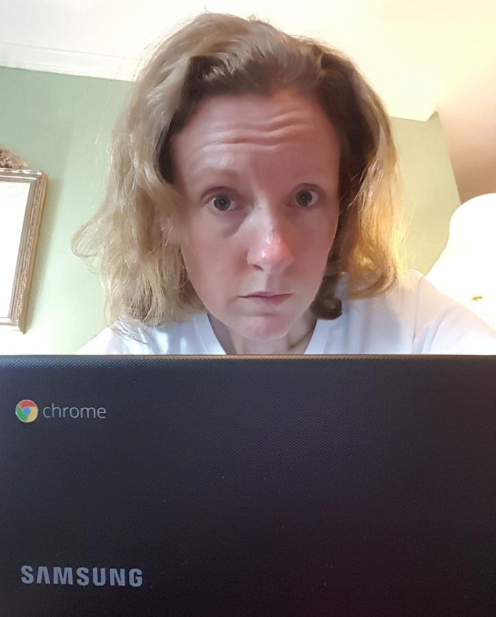anxious writer